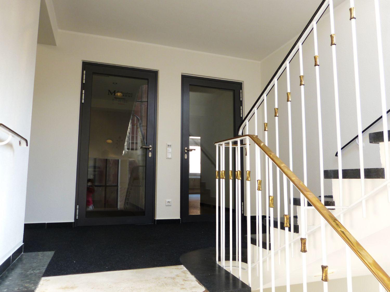 Treppenhaus Büroeingang