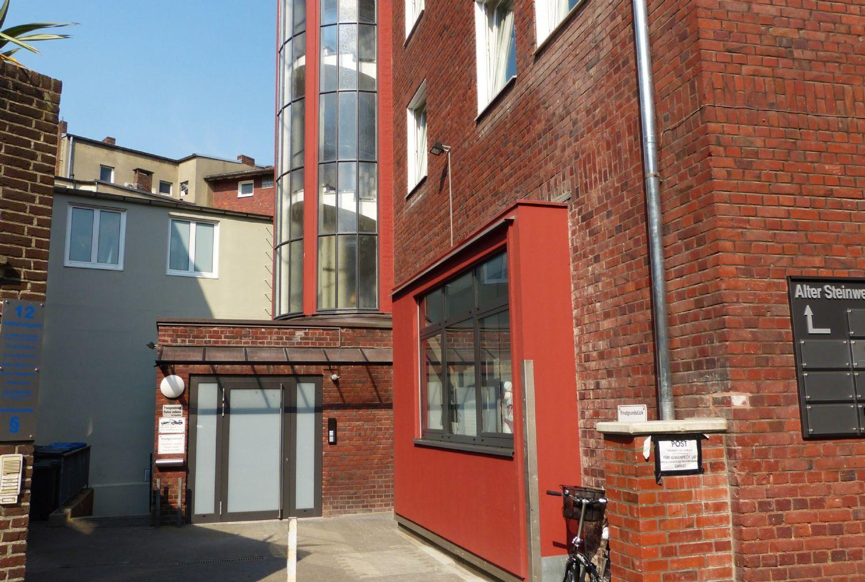 Zugang Bürogebäude